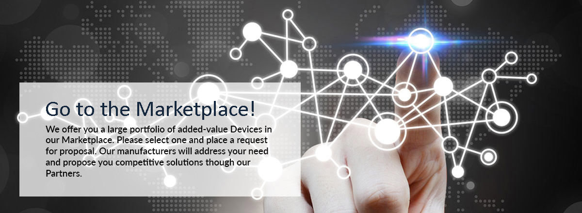 Go to the Marketplace in Internet of Things!